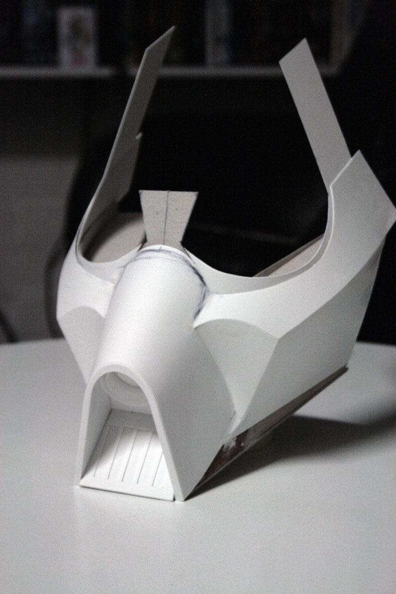 Scratch Build McQuarrie Concept Vader Helmet
