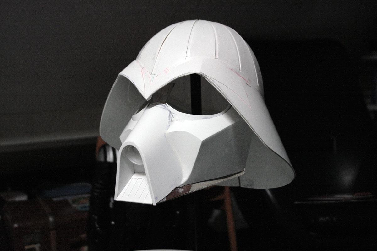 Scratch Build Mcquarrie Concept Vader Helmet Boba Fett Costume