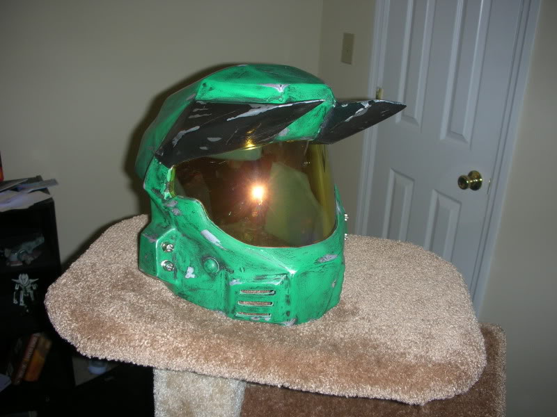 My other dented helmet, Halo Mark V Helmet | Boba Fett