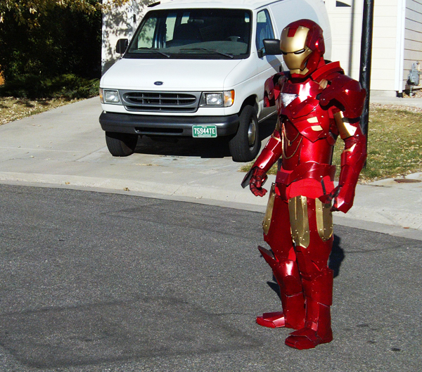 how to build an ironman suit costume