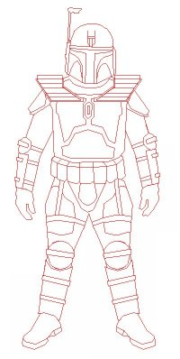Mando Complete Outfit Outline New small .jpg