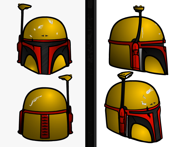 my template for my mando costume boba fett costume and prop maker