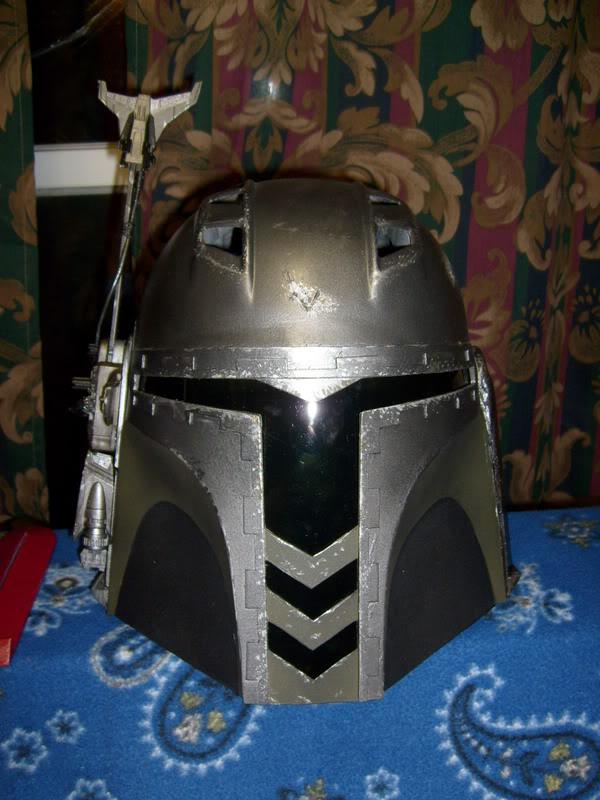 ghostsoldier custom scratchbuilt helm from wof templates boba fett