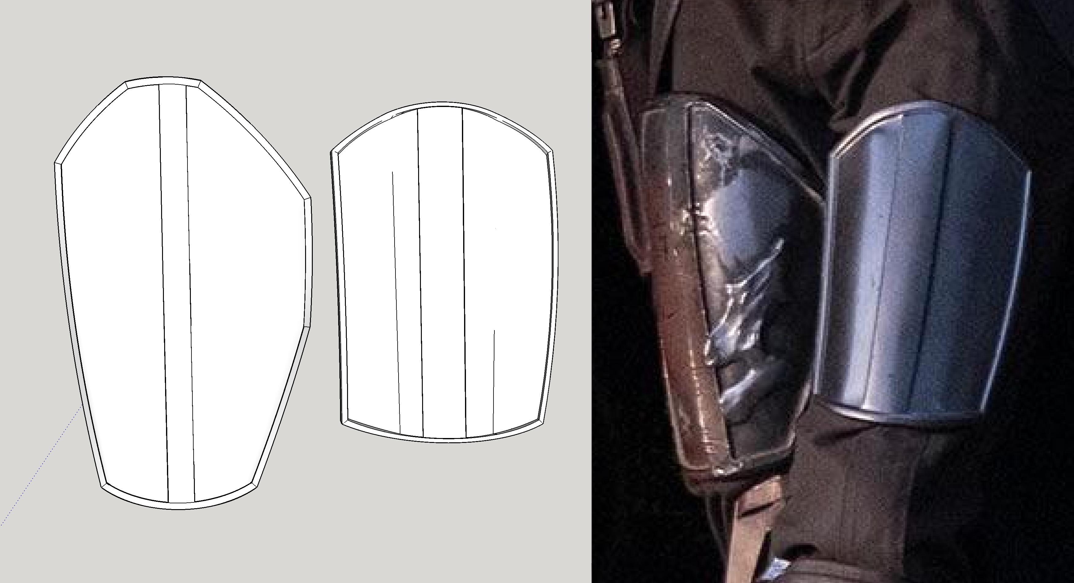 A Mandalorian Pre beskar inspired Right gauntlet greebles high detail resin printed