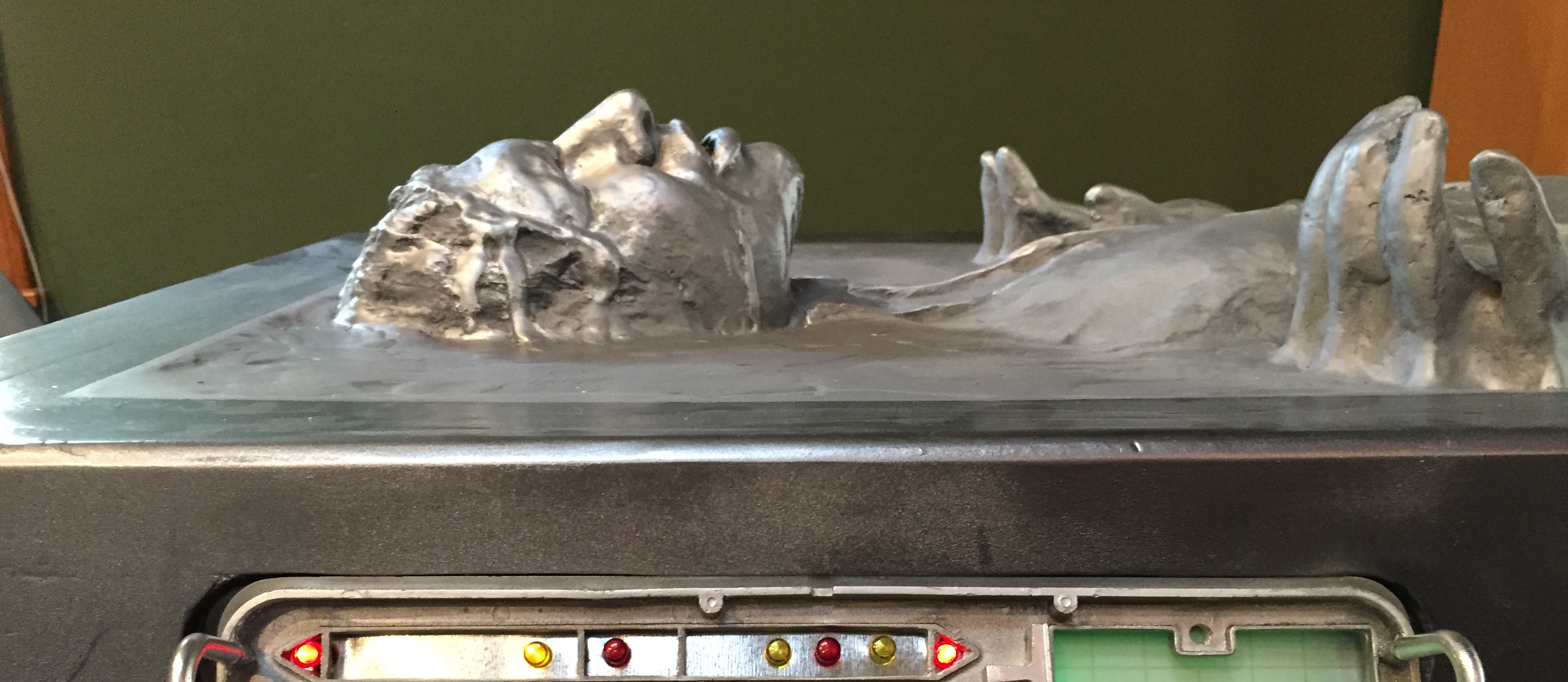 My Han In Carbonite Build Amp Wall Mount Done Boba Fett