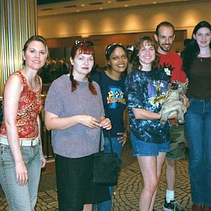 Meeting up at DragonCon 2002