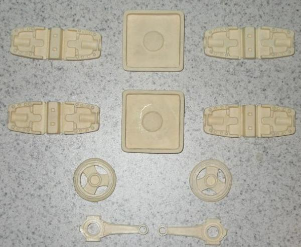 castings of my esb blaster greeblies built from wof s templates