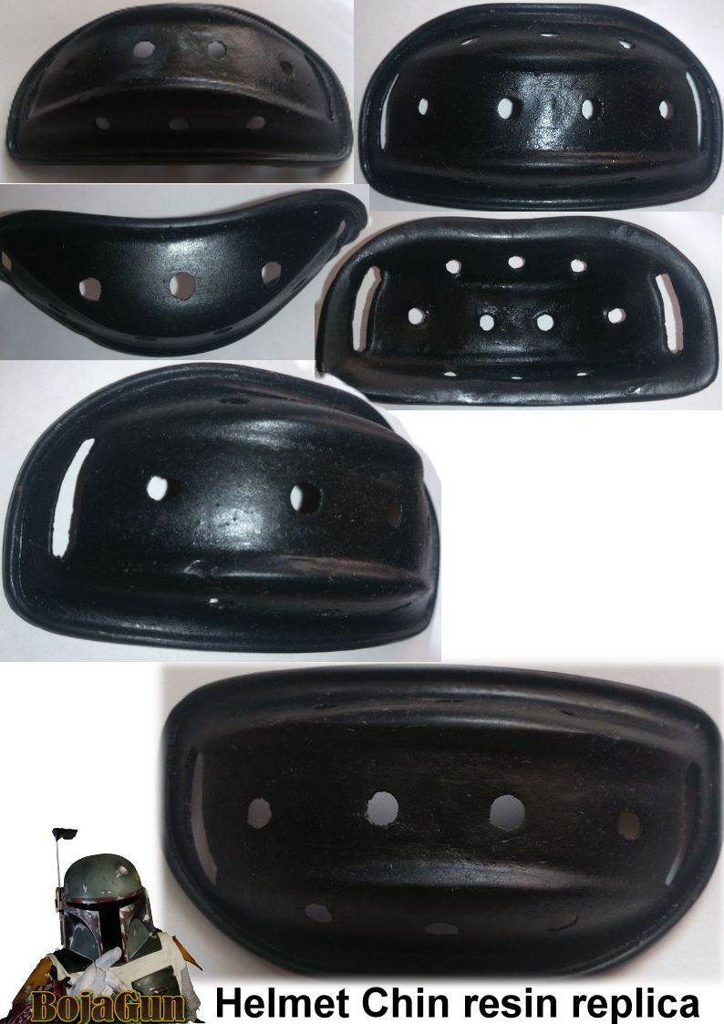 Helmet Chin Resin Replica